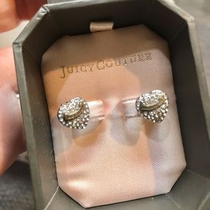 Juicy Couture vintage earrings with original box